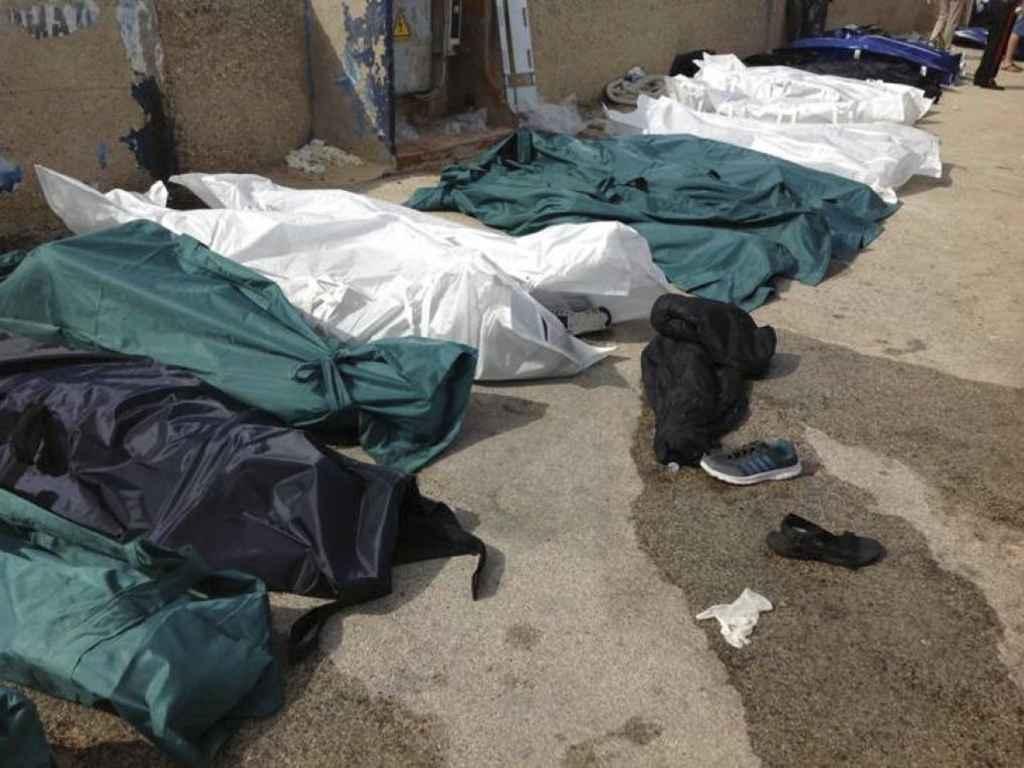 Lampedusa tragedia in mare