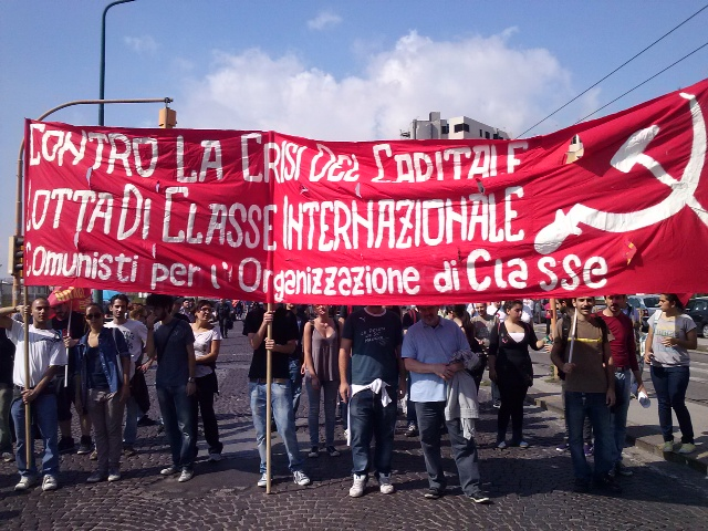 Napoli - striscione COC