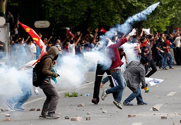 Turkey protest update