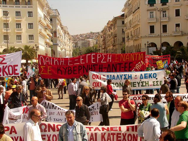 1 maggio Grecia