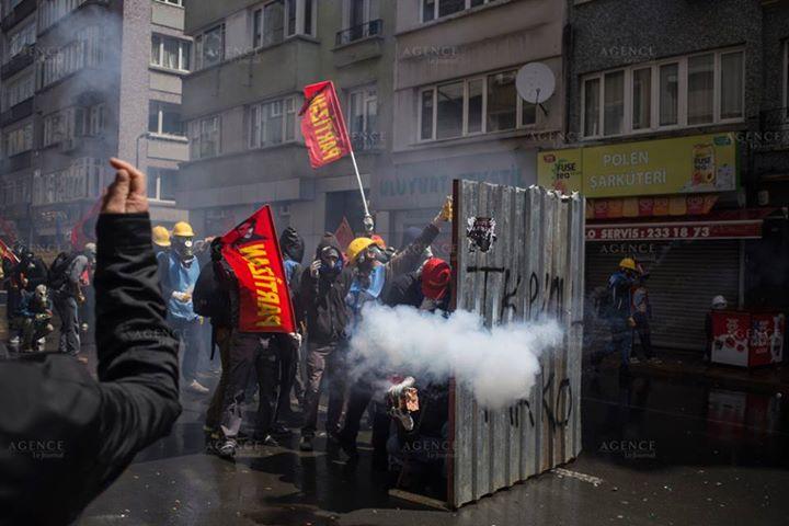 1maggio scontri Istanbul