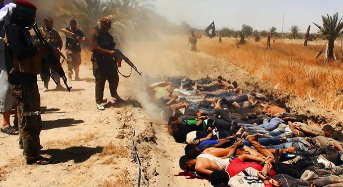 Iraq - esecuzione ISIS