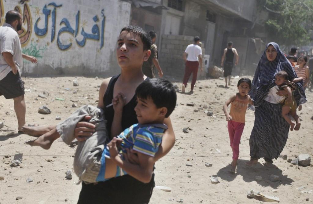 Bombardamenti Gaza