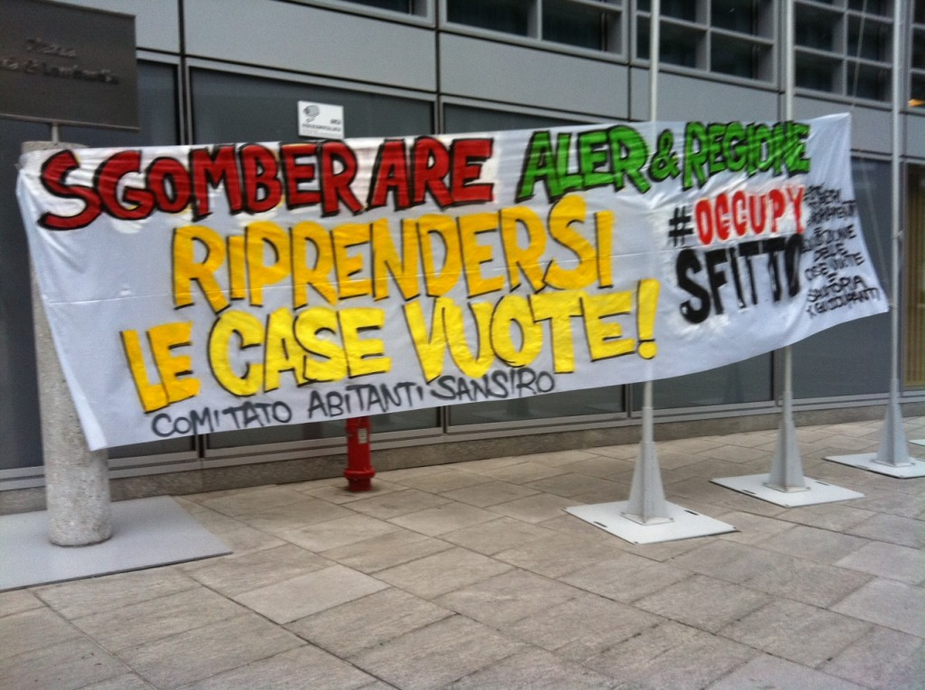 Occupy striscione