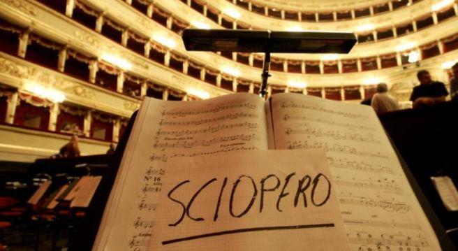 Sciopero La Scala