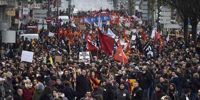 Francia - manifestazione